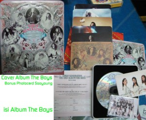 Album The Boys